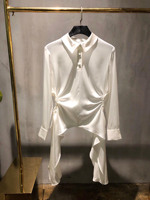 summer new women silk shirt blouse ddxgz3