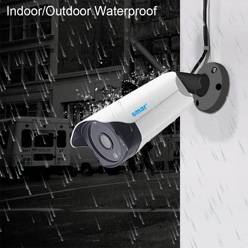 Smar Wifi Outdoor IP camera 960P 720P Waterproof 1.31.0MP Wireless Security Camera Two Way Audio TF Card Record P2P ONVIF (3)