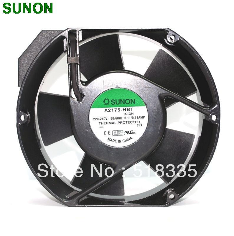 Sunon A2175 HBT AC Fan 171x151x5 mm 17CM 17251  230VAC 50 60Hz речь 978 5 9268 2175 5