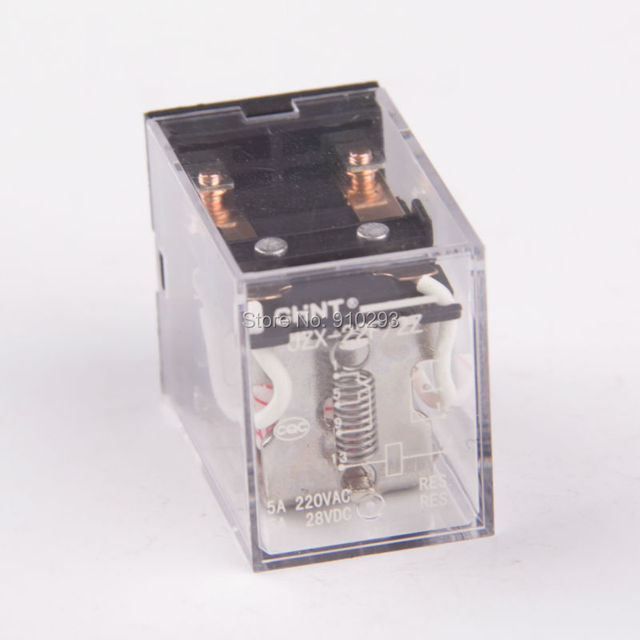 JZX22F Solid State Relay Power Relay 5A 220VAC 28VDCin Relays from