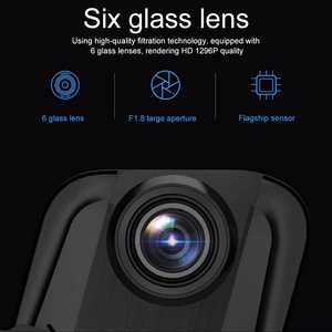 Image 5 - 10 Inch Touch Bildschirm Fahren Recorder DVR Rück Kamera Volle HD Auto Kamera 1080P Hinten Kamera Dual Lens Video recorder