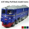 Сплав модель поезда, 1 : 87 сплав задерживать поезд, Дети в подарок, Diecasts поезд и игрушка транспортных средств