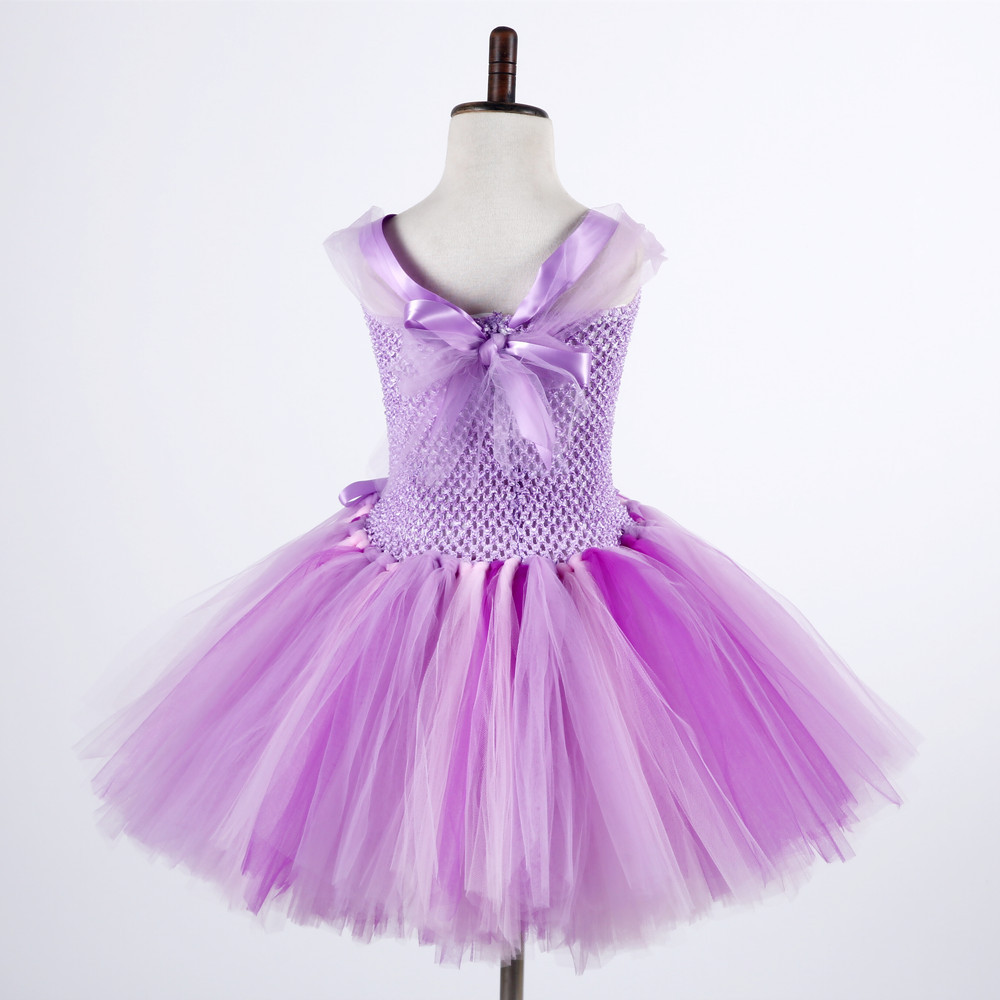 Colorful Ball Gown Kids Vestidos Dress