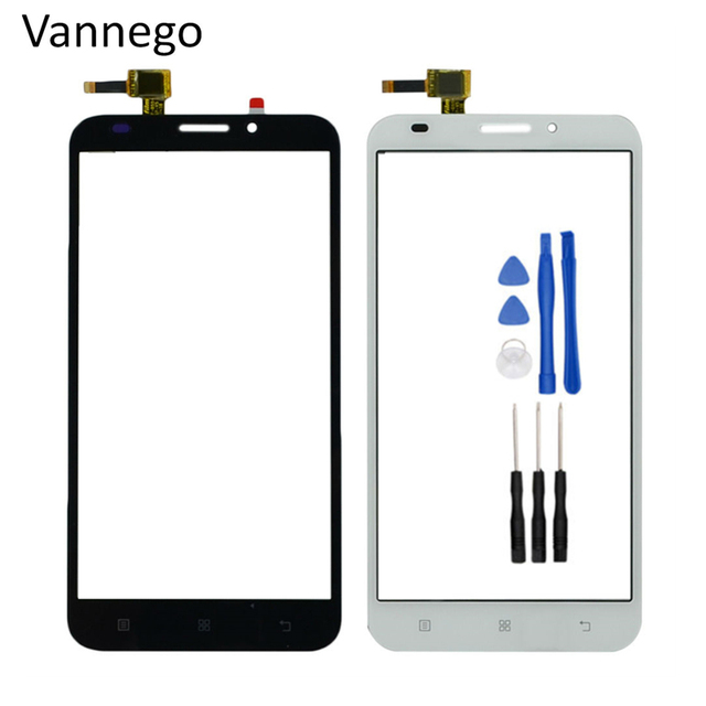 Vannego Touch Panel For Lenovo A916 A 916 5.5 inch Touch Screen Digitizer Front Outer Front Glass Lens Sensor + tools