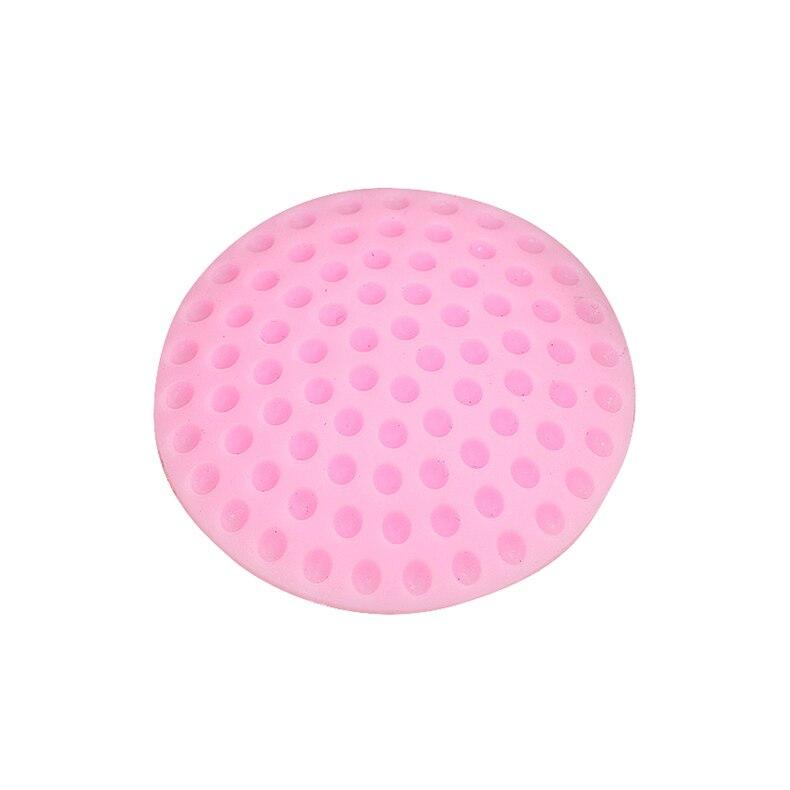 1 шт. настенные утолщенные бесшумные дверные Обвайзеры для гольфа, стильные резиновые Обвайзеры, ручки, дверной замок, защитная накладка, Защитная Наклейка на стену для дома - Цвет: pink