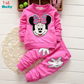 2015 Rushed Promotion Coat Character Regular Full Vestidos Kids Sport Wear Garment Fashion Baby Clothing Set Suit Clothes