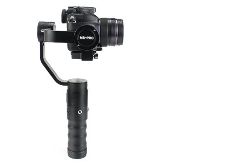 Beholder MS-PRO 3-Axis Gimbal Stabilizer for Mirrorless Cameras Phones for GoPro john carucci gopro cameras for dummies