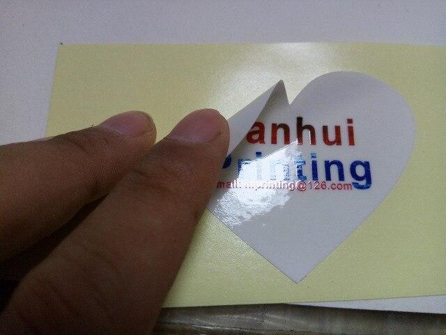 Kertas glossy sticker printing