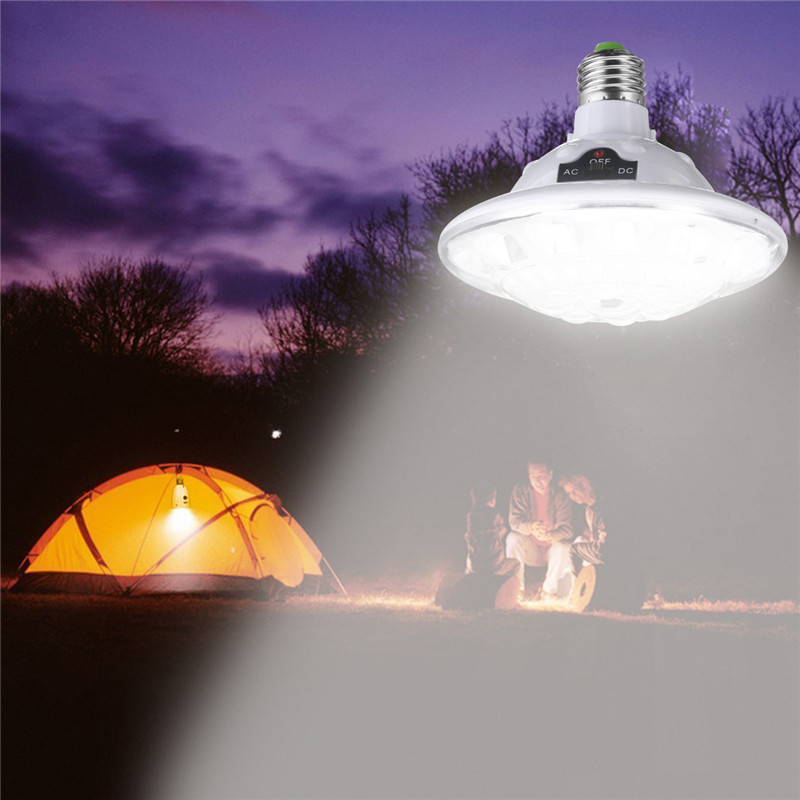 Mising 22 LED Solar Powered Lamp Outdoor Garden Light Hiking Tent Camping Hanging Lamp with Pure White Remote Control Waterproof