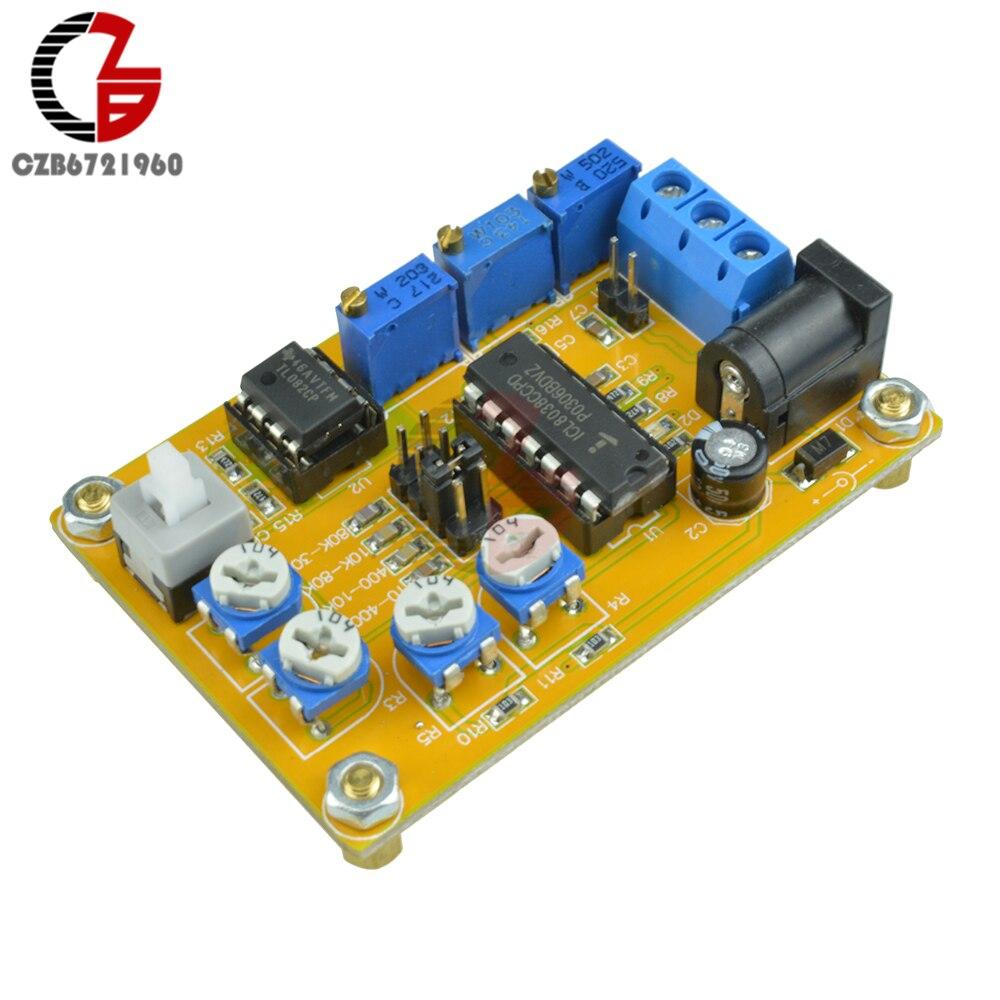 Icl8038 Function Signal Generator Kit Multi Channel Waveform 8038 Circuit Automotivecircuit Diagram Dc 12v 24v Module Sine Triangle Square Wave Board 10hz