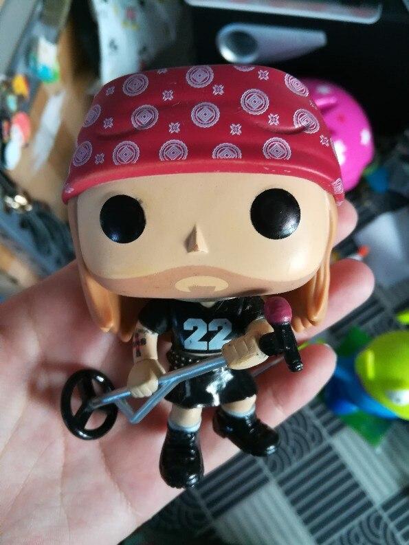 Original Funko Pop Imperfect Rock Guns N Roses Axl Rose