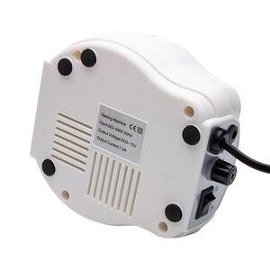 Image 5 - Máquina pulidora eléctrica para uñas, 202 RPM, con cortadores para manicura y pedicura, aparato de perforación, 35000
