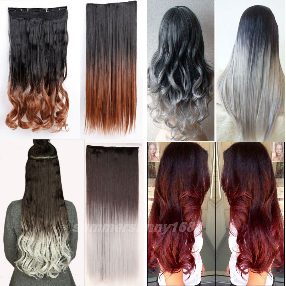 Cheap Clip In Red Hair Extensions Remy Indian Hair