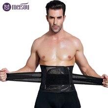 Meisou Modeling Straps Waist Trainer Men Slimming Belt Belly Corset for Body Shaper faja reductora Abdomen cinta modeladora