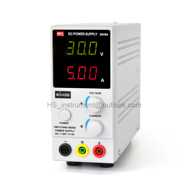 MCH-K305D Adjustable DC power supply 30V5A digital display high precision current meter K305 mystery mch 1025
