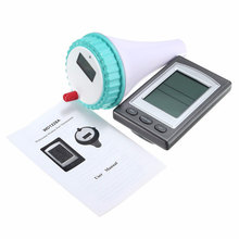 лучшая цена Wireless Floating Digital Waterproof Swimming Pool SPA Floating Thermometer Temperature Meter With Receiver LCD Display