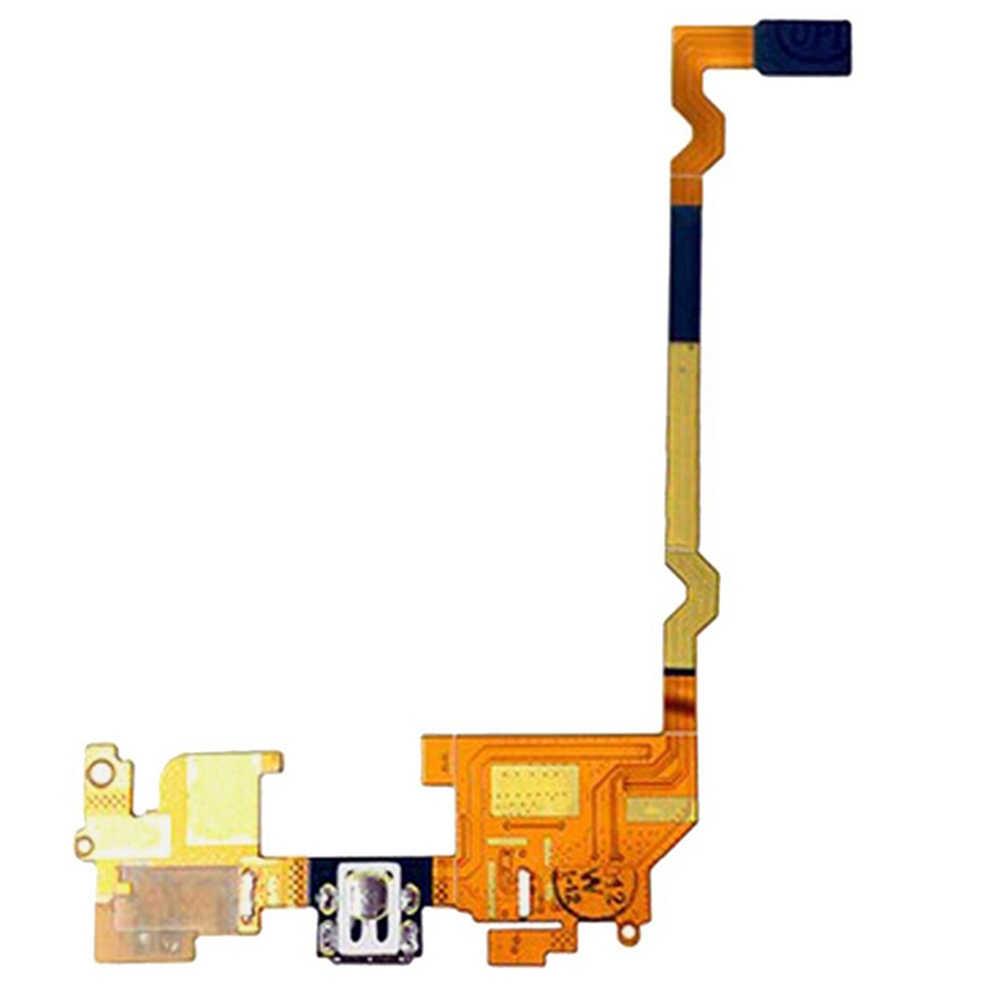 Usb موصل شحن ميناء الكابلات المرنة والميكروفون flex cable for lg p769/p760/p765/أوبتيموس l9