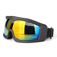 Universal Motorbike Ski Bicycle Glasses Goggles Windproof Anti UV Outdoor Riding Goggles Motorcycle Helmet Glasses