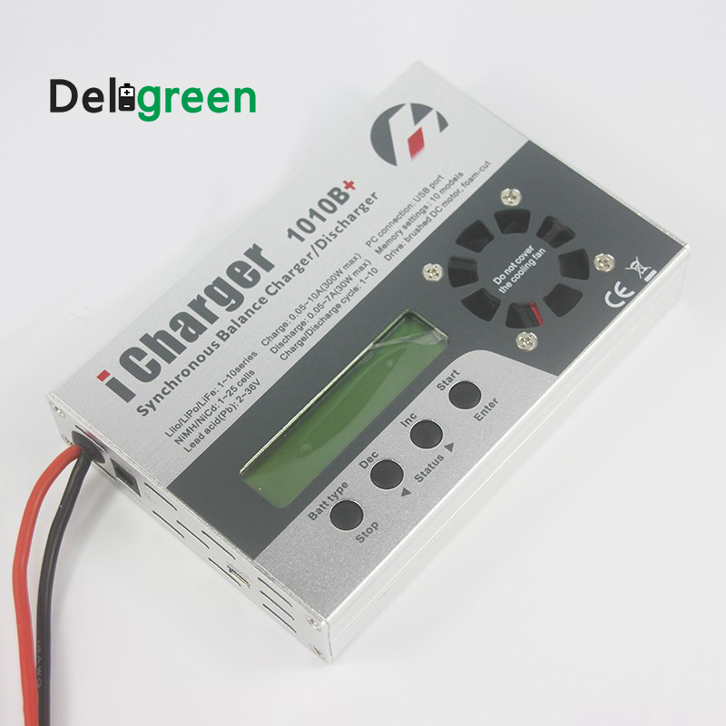 iCharger 1010B+ for RC MODEL/ Model Planes Model Air Craft 10A 300W 10S  Fast Charger