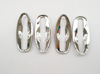 For Nissan Navara Np300 2015 2016 Abs Chrome Door Handle Bowl Cover Trim Auto Car Styling