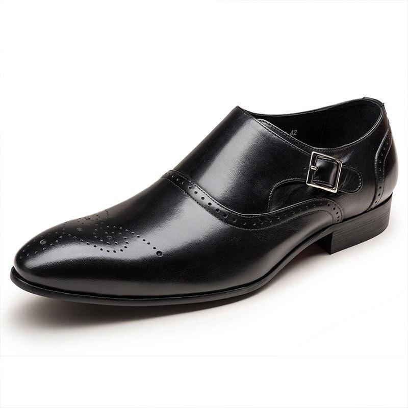 AF04 New Carved British Wind Brock Men Leather Quality Breathable Latin Ballroom Dance Shoes Men Leather