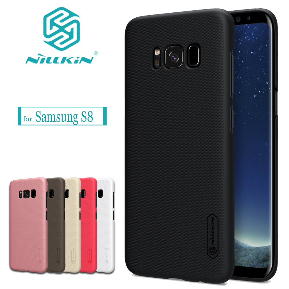 Nilkin for Samsung S8 Case NILLKIN Frosted Shield Hard Plastic Back Phone Shell Cover For Samsung Galaxy S8 Gift Screen...  samsung s8 case | Top 5 Samsung Galaxy S8 Cases and Covers Nilkin for font b Samsung b font font b S8 b font font b Case b