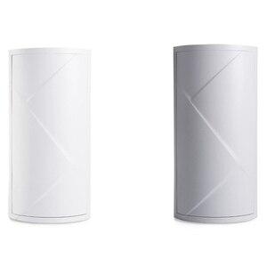 Image 3 - 욕실 360 회전 삼각형 선반 주방 변기 코너 선반 욕실 스토리지 랙 캐비닛 다층 Storag
