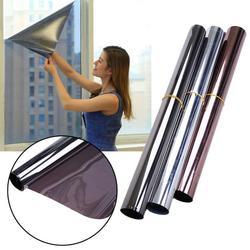 50*100CM Fenster Film Ein Weg Spiegel Isolierung Aufkleber Solar Reflektierende Solar Reflektierende Eine Möglichkeit Spiegel Privatsphäre