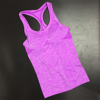 Summer Women Yoga Top Gym Comfortable Sports Sleeveless T Backless Shirts Sport Fitness Gym Shirts Running Clothes Singlets Tops 1