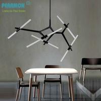 Creative Branch Arts Roll Hill Agnes Pendant Light Lamp Modern Italian Design Personality Living Room Restaurant