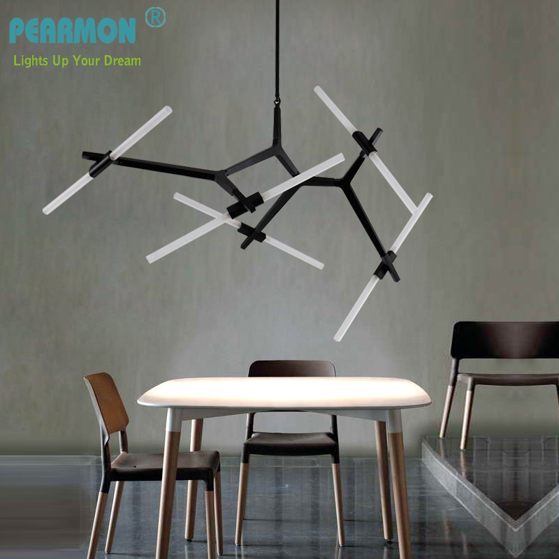 Creative Branch Arts  Pendant Light lamp Modern Italian Design Personality Living Room Restaurant Lamps fixtures modern circle tree branch led pendant light creative personality firefly dia 210cm nordic living room restaurant hall lobby lamp