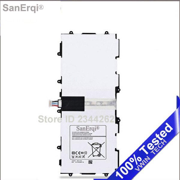Battery For Samsung Galaxy P5200 Tab 310.1 P5210 T4500C  P5220 GT-P5200 P5213 GT-P5210 New 6800mAh T4500E  SanErqiBattery For Samsung Galaxy P5200 Tab 310.1 P5210 T4500C  P5220 GT-P5200 P5213 GT-P5210 New 6800mAh T4500E  SanErqi