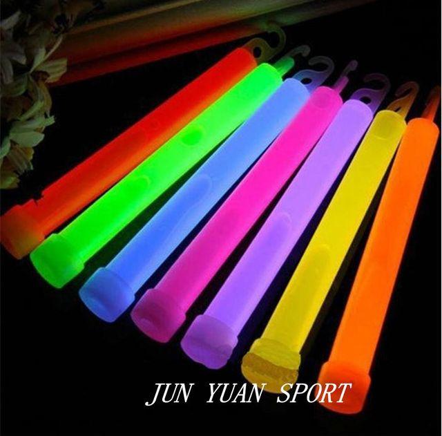 Hot ! 10pcs 6inch Industrial Grade Glow Sticks Light Stick