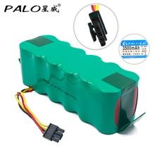 все цены на PALO 14.4V Ni-MH 3500mAh Vacuum Cleaner Robot Rechargeable Battery for Dibea Panda X500/X580 KK8 Ecovacs Mirror CR120 HaierT322 онлайн