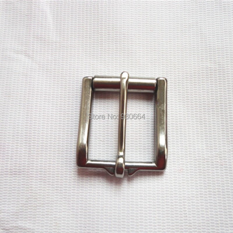 34mm Stainless Steel Belt Buckle With Roller  34mm Leather Buckle W015