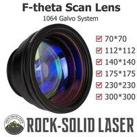 F theta Scan Lens Optical Field Lens 1064nm EFL 100 163 210 254 330 420 Wavelength Fiber Laser Marker Parts Wholesale