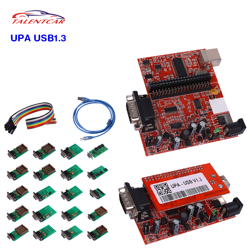 2016 NEWEST PRODUCT Diagnostic Tool UPA USB Programmer v1.3 with Full Adapters- UPA USB  ...