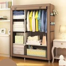 Wenn die viertel DIY Kleiderschrank vlies Tuch Kleiderschrank Klapp Tragbare Kleidung Schrank Schlafzimmer Möbel