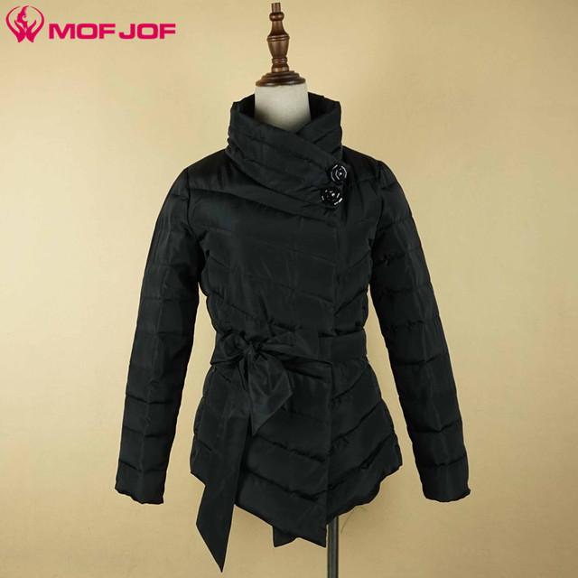 Mofjof 2017 primavera casaco novo modelo das mulheres à moda magro jaqueta outerwear casacos de algodão mulheres quente macio feminino jaqueta fina 6099