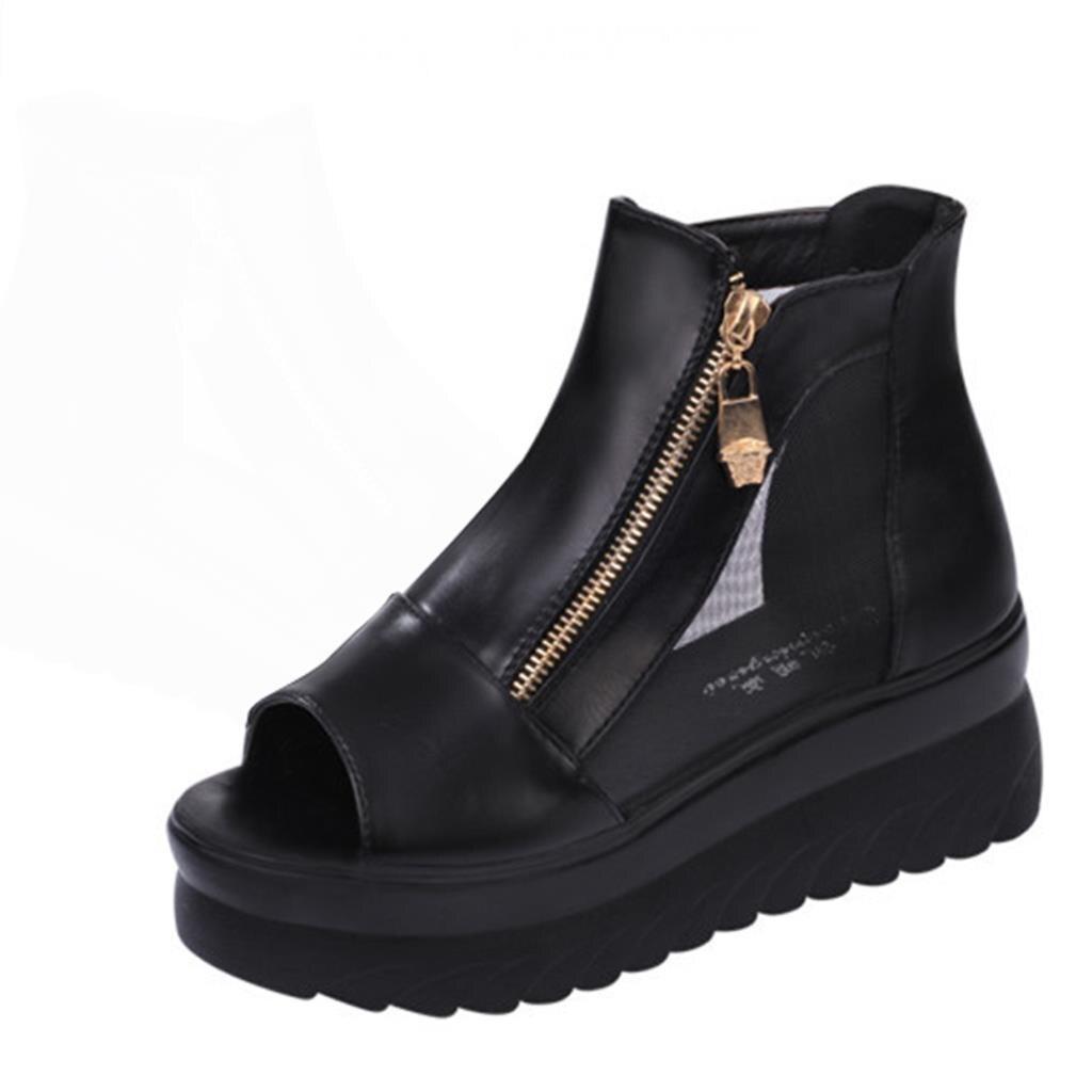 Black mesh sandals - Black Mesh Sandals