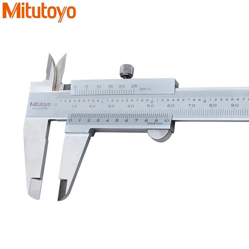Mitutoyo Vernier Caliper 0-150/200/300mm 1/1000 in Precision 0.02mm Calibre 530-312 Gauge Paquimetro Calipers Measure Tools