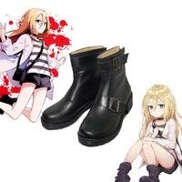 RPG Game Angels of Death Rachel Gardner Cosplay Game Angels of Death shoes Cosplay Custom men's and women's cartoon shoes