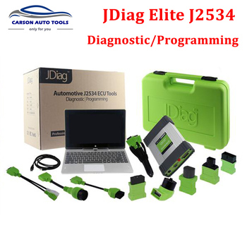 Original JDiag Elite J2534 Diagnostic and Coding Programming Tool with JDiag Tablet and Software Preinstalled Free Update Online