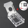 Transparent Orange Pi PC Acrylic Case Box Clear Orange pi PC Plus Enclosure Cover Shell+CPU Cooling Fan for Orang Pi PC/PC Plus