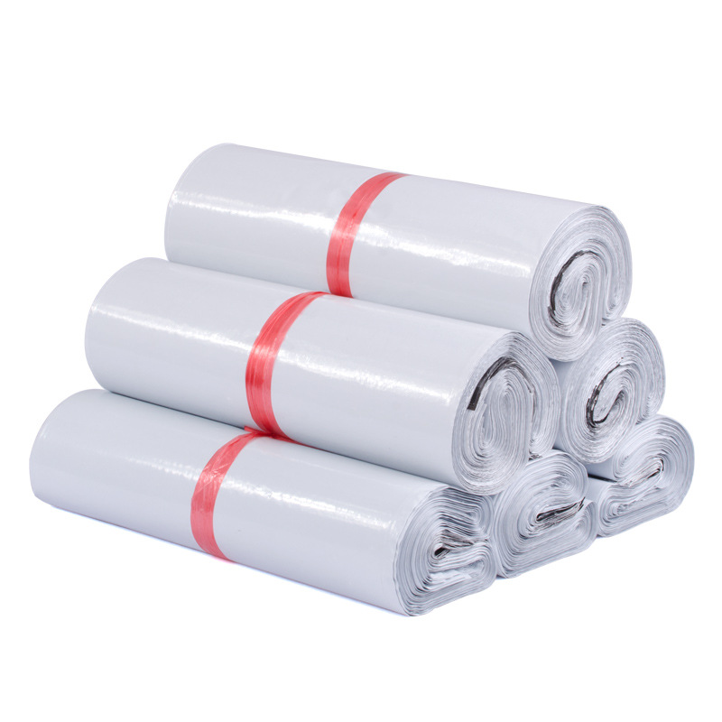 400 개/몫 5 크기 폴 리 메일러 플라스틱 우편 봉투 배송 봉투 폴 리 가방 강력한 플라스틱 인감 mailbags 패키지 가방-에서선물가방&포장용품부터 홈 & 가든 의  그룹 1