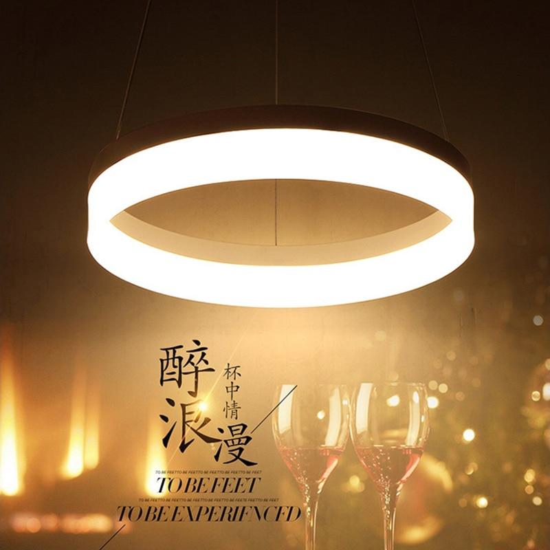 Modern LED Pendant Lights For Dining Room lamparas colgantes pendientes Hanging Decoration Lamp Lighting suspension luminaire