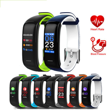 Smart band P1 PLUS Color display Fitness Bracelet Heart rate tracker Blood Pressure Monitor Wristband IP67 Waterproof P10