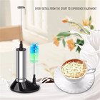 1Pc Mini Mixer Coffee Milk Drink Electric Whisk Mixer Frother Foamer Kitchen Handle Stirrer Egg Beater Kitchen Gadget Tools