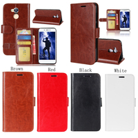 BOGVED R64 Series PU Skin Mobile Phone Leather Case For Huawei Honor 6A Bag Case Cover