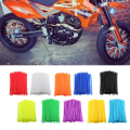 72Pcs Motorcycle Dirt Bike Wheel Rim Spoke Covers Wrap Decor Protector